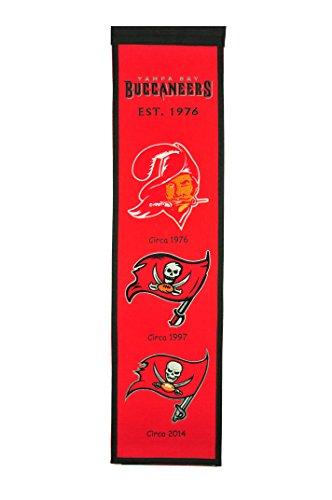 (NFL Tampa Bay Buccaneers Heritage Banner)