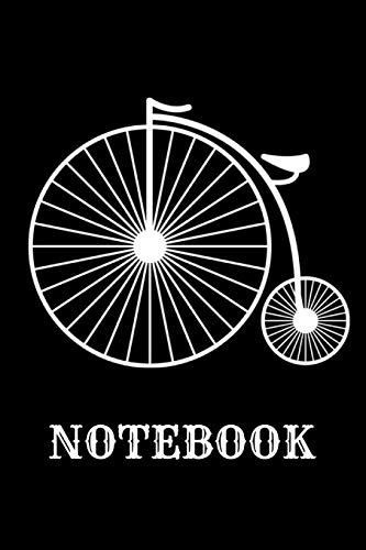 Notebook: Penny Farthing Personalised Homework Book Notepad Notebook Composition and Journal Gratitude Diary por Retrosun Designs