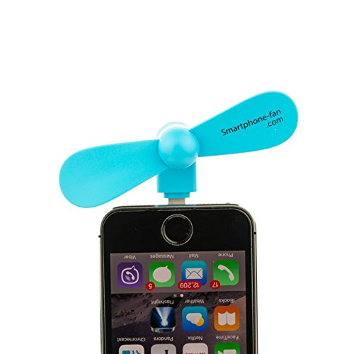 Mini iPhone Fan by Smartphone-fan * Portable USB 8 Pin Fan for Apple Cell Phone, Pads, or Computers / Portable Mobile Dock Fan * Lightning, iPhone 6, 6s, 6+, 5s, - Forum The Stores In