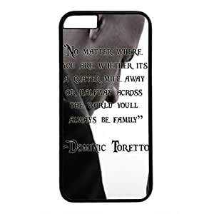 Iphone 6 case ,fashion durable black side design phone case, pc material phone cover ,with the picture of fast and furious 7 .