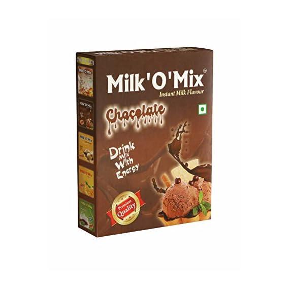 Milkomix Chocolate Milkshake and Ice Cream Flavoured Milk Powder (150 gm)