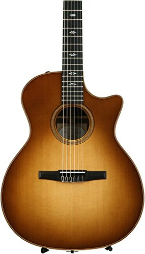 Taylor 714ce-N Nylon-String Grand Auditorium Cutaway - Western Sunburst Lutz Spruce Top ()