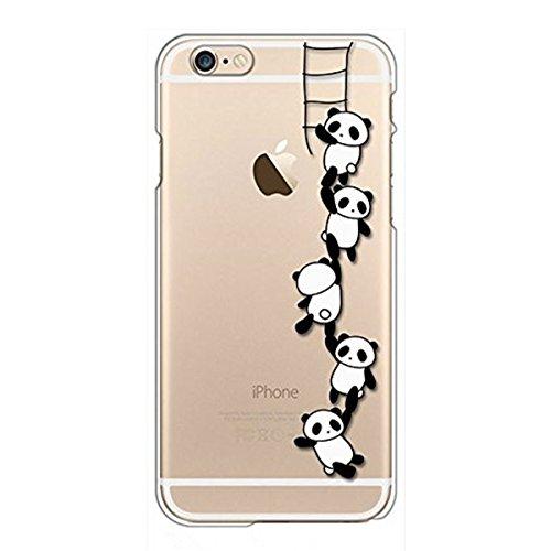 Qissy Iphone 6s Plus Case Iphone 6 Plus Case Panda Clear Design