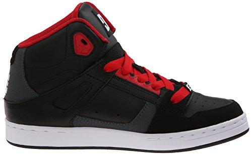 DC Jugend Rebound Skate Schuhe Dunkler Schatten / True Red