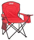 : Coleman 2000020264 Cooler Quad Portable Camping Chair, Red