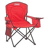 OUTDOOR_RECREATION_PRODUCT unisex-adult Amazon, модель Coleman 2000020264 Cooler Quad Portable Camping Chair, Red, артикул B00339C3P0
