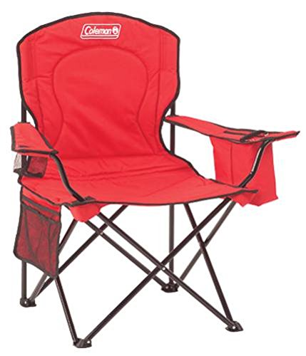Coleman Portable Quad Camping Chair with - Bag Softball Navy Blue