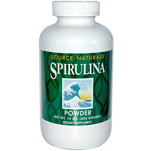 Source Naturals, Spirulina Powder, 16 oz (454 g) - 3PC by Source Naturals