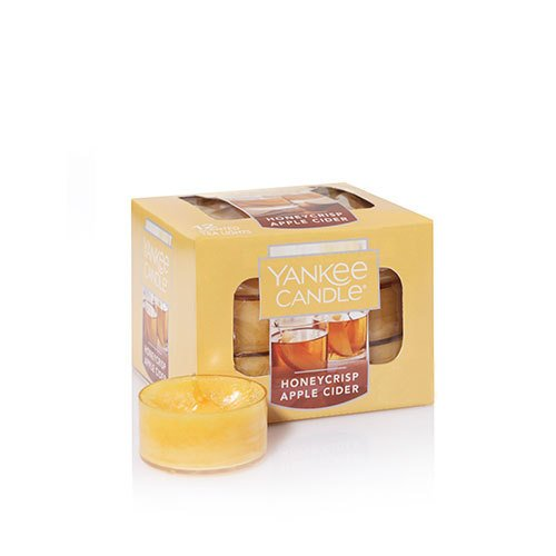 (Yankee Candle Honeycrisp Apple Cider 12 Tea Lights)