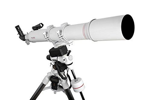 Explore Scientific FL-AR1021000EXOS2GT Refractor Telescope with Exos-2 Mount with Goto, 102mm, White