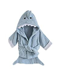 Yunsen Baby Girls & Boys Hooded Animal Bathrobe Robes Bath Towel Super Soft