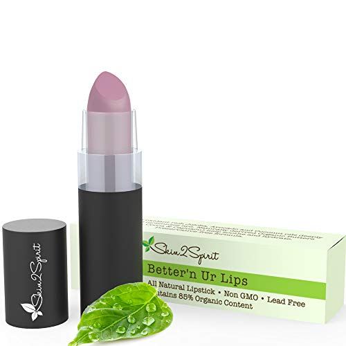Bettern Ur Lips Vegan Lipstick (LILAC) | 100% Natural | Organic | Gluten Free | Cruelty Free | Vegan | Lead Free | Paraben Free | Petroleum Free | Healthy Color thats Good for your Lips!