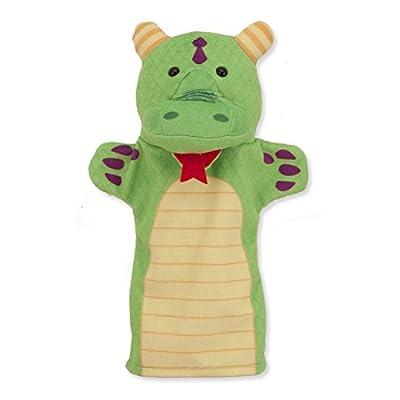 Melissa & Doug Palace Pals 4-Piece Hand Puppets Gift Set + Free Scratch Art Mini-Pad Bundle [90827]: Toys & Games