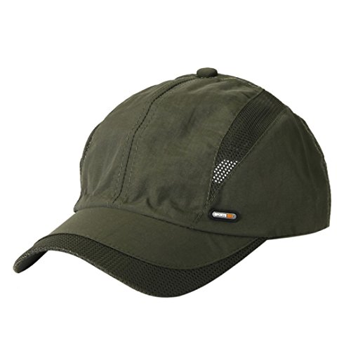 Caopixx Baseball Cap,2018 Men Women Adjustable Baseball Sunscreen Cap Sports Caps Tennis Hat Golf Hats Cap (One Size, Army Green) - Golf Screen Print Cap