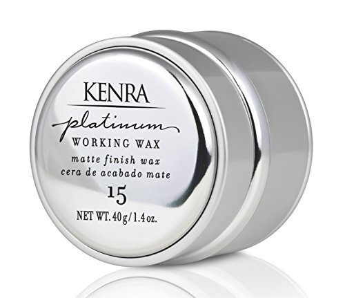 Kenra Platinum Working Wax #15, 1.4-Ounce