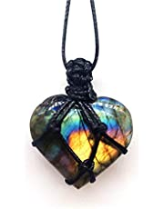 Ketting Genezing Kristal Kwarts Steen Punt Chakra Choker Ketting Surround Weven Kristallen En Helende Stenen Voor Hekserij Benodigdheden Gem Set
