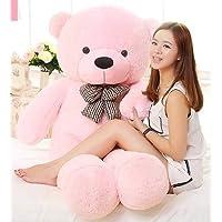 GURUDEV Loveable HUGABLE Soft Giant Life Size , Long Huge Teddy Bear(Best for Someone Special) (4 Feet, Pink)