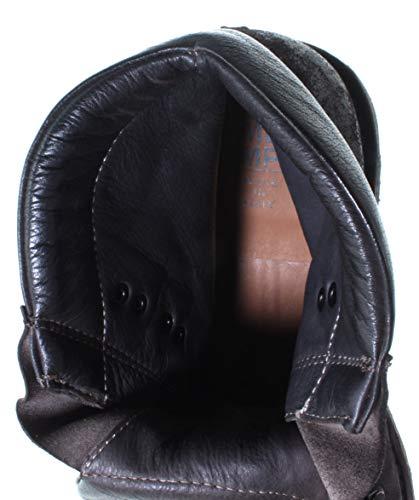 Stivaletti Made Uomo 58804 Scarpe Nuove CC Vintage MOMA Italy Crosta Marrone in 8w751xAqR