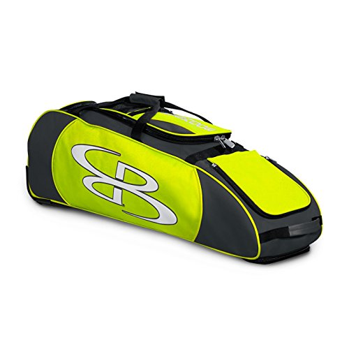 "Boombah Spartan Rolling Baseball / Softball Bat Bag - 38""..."