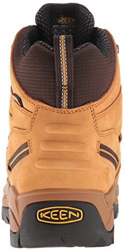 Wheat 2E Pittsburgh 7 Industrial US Shoe and Keen Utility Mens Construction pwWpq0FC