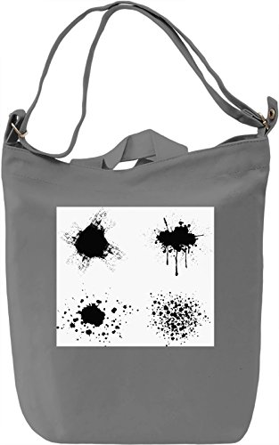 Watercolor Split Texture Borsa Giornaliera Canvas Canvas Day Bag| 100% Premium Cotton Canvas| DTG Printing|