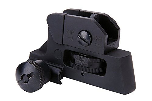 Green Blob Outdoors Rear Iron Sight Match-Grade Tactical Aluminum Picatinny/Weaver Complete Match-Grade 4/15 Back up ()