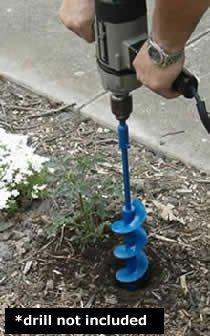 Post Hole Auger Tree Planter Garden Earth Drill 3.25'' X 28''