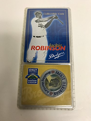 - Jackie Robinson #42 Brooklyn Dodgers Collectible Coin 1947-1956 Stadium Promo SGA
