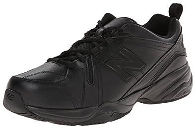 New Balance Men's MX608V4 Training Shoe,Black,6.5 D US