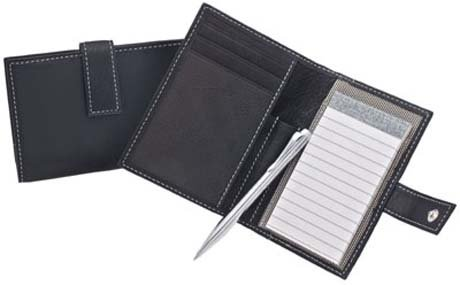 Libelle Black Leather Note Taker