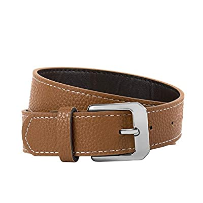 Boys' Leather Dress Belt for Toddlers and All Size Kids