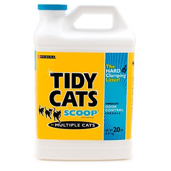 Purina Tidy Cats Scoop Brand Cat Box Filler for Multiple Cats, My Pet Supplies