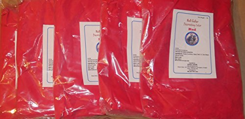 Red Holi Color Powder - 5 LBS, BHARAT ONLINE BRAND, SOLD ONLY BY ALL INDIA STORE.Made of herbs and basic coloring