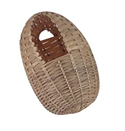 Living World Large Bamboo Finch Nest, 6-Inch by 5-Inch
