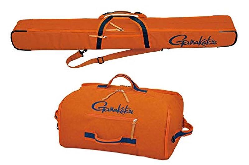 가마가츠(Gamakatsu) 로드 케이스 울트라 라이트 로드 케이스・백 세트 오렌지 GC281 오렌지