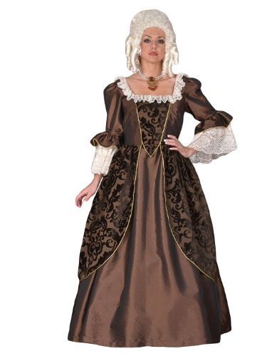 Deluxe French Revolution Era or Marie Antoinette Theater Quality Costume Gown, (French Queen Marie Antoinette Costumes)