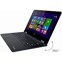 IVIEW MAXIMUS-BK 11.6 Touchscreen Laptop Quad-Core 2.0GHz CPU 2GB RAM 32GB HDD