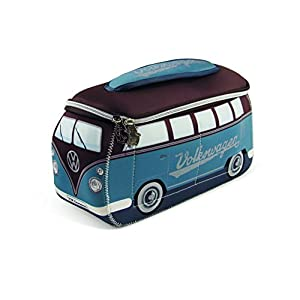 Brisa VW Collection - Volkswagen T1 Bulli Bus 3D Universal-Schmink-Kosmetik-Kultur-Reise-Hausrats-Tasche-Mäppchen-Beutel