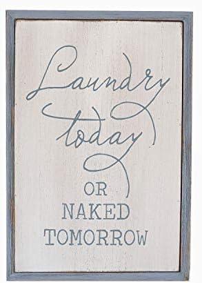 Paris Loft Laundry Plaque Tomorrow product image