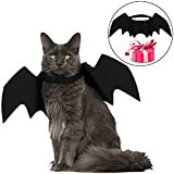 #5: Legendog Cat Costume Halloween Bat Wings Pet Costumes Pet Apparel for Small Dogs and Cats