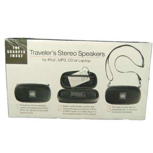 Sharper Image Travelers Stereo Speakers 70off Laneadvisorycom