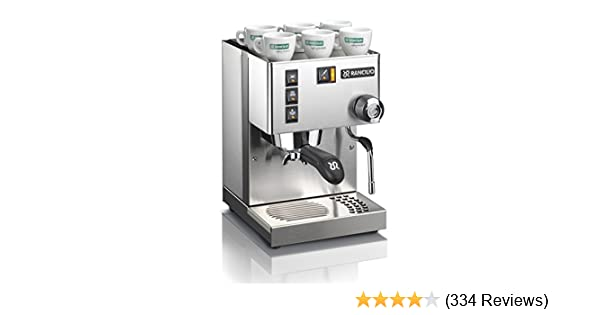 Amazon.com: Rancilio Silvia Espresso Machine with Iron Frame and Stainless Steel Side Panels, 11.4 by 13.4-Inch: Kitchen & Dining
