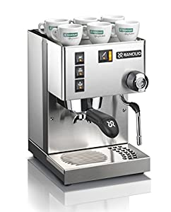Rancilio Silvia Espresso Machine : Great Machine, but takes practice, patience and lots of Beans