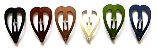 ir Snap Clip Mix Earth Tone Color Size 30 Mm ()