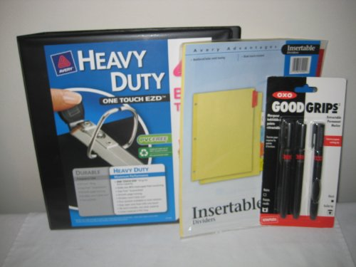 Avery Heavy-Duty View Binder with 1.5 Inch One Touch EZD Rin
