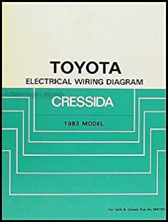 1983 toyota cressida electrical wiring diagram original gmc van wiring diagram toyota cressida wiring diagram #3