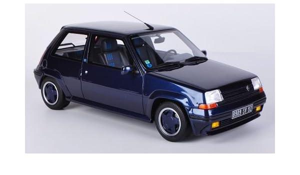 Renault 5 GT turbo Alain Oreille, met.-oscuro-azul, Modelo de Auto, modello completo, Ottomobile 1:18: Amazon.es: Juguetes y juegos
