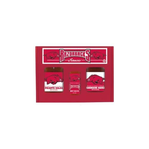 Hot Sauce Harrys 6202 ARKANSAS Razorbacks TailGate Hot Sauce BBQ ()