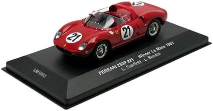 Ferrari 250 Testa Rossa 1:43 escala Diecast modelo altamente detallado