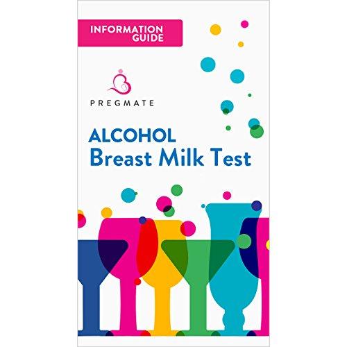 PREGMATE 25 Alcohol Breastmilk Test Strips Breastfeeding Breast Milk Test (25 Pack) by PREGMATE (Image #4)